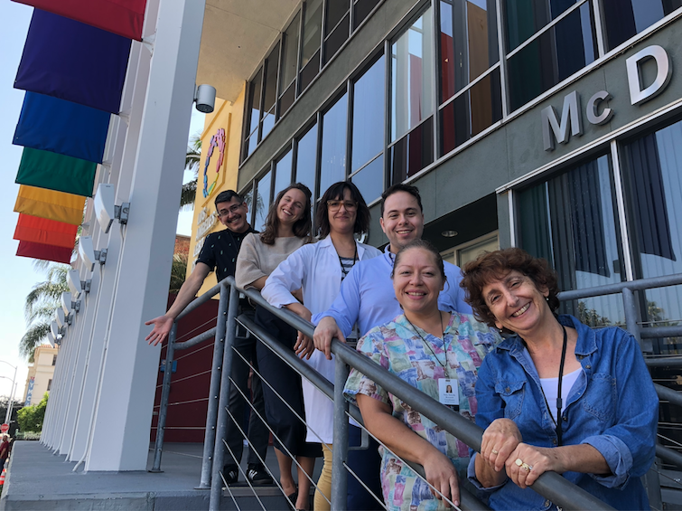 mStudy Staff at the Los Angeles LGBT Center
