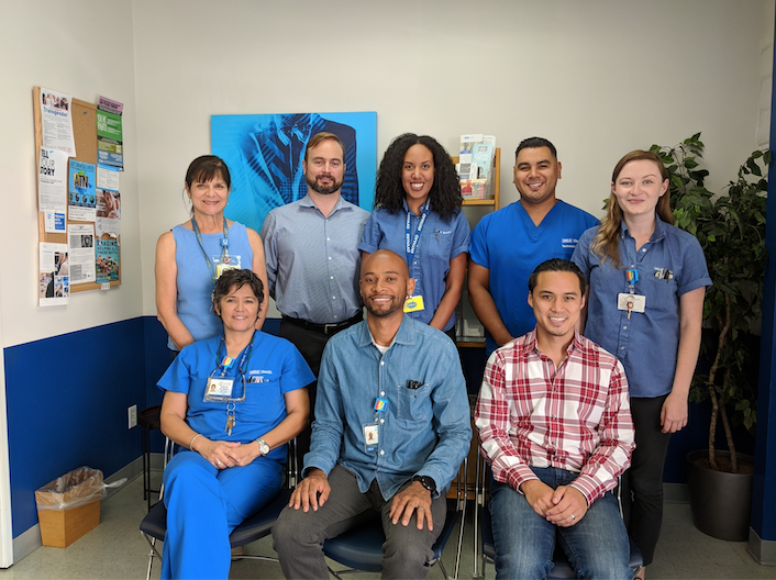 mStudy Staff at the UCLA Vine Street Clinic